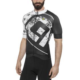 Alé Cycling Graphics PRR Star Kortärmad cykeltröja Herr vit/svart